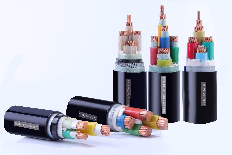 信号电缆 RVVP 4×1.0(分色标)