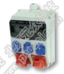 PCE插座箱(户内)IP54 PCE-DB/户外,RCD:40A/4P/0.03*1只,32A/380V/5P:3只