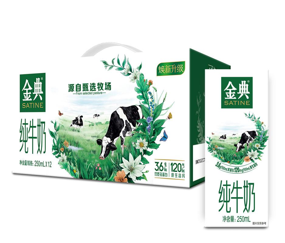 伊利·金典纯牛奶250ml*12