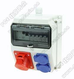 手提式插座箱 PCE9135038-ST,RCD:40A/4P/0.03*1只,32A/380V/4P:2只,16A/230V/3P:2只