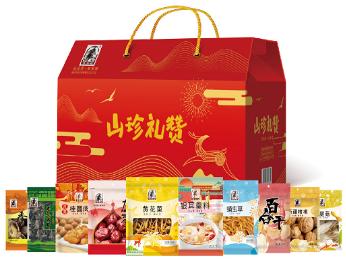 塞翁福干货礼盒1395g(山珍礼赞)礼品