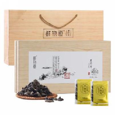 鲜物道-黑珍耳礼盒10g*30袋礼品木耳