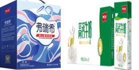 中秋礼盒  弗瑞希酸奶+卫岗高钙牛奶(不包邮,仅限一号服务区职工超市自提)